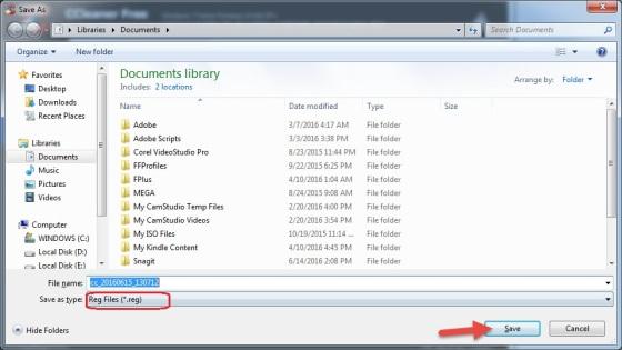CCleaner Fix Registry Errors