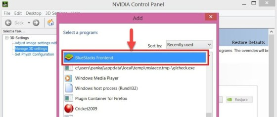 Bluestacks App Player Black Screen Nvidia Graphics Card